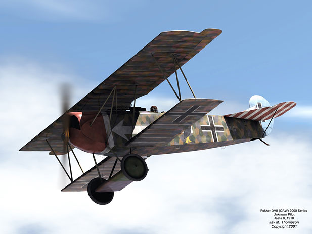 10 January 1918 - German Fokker D.VII