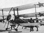 1917-23 Sopwith Triplane Russian Civil War. The Soviets used Western-built aircraft they had taken over from the Imperial Russain Air Service or captured from the 'Whites' and the Allied intervention forces. They even used a single Sopwith Triplane.