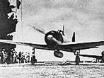 An Japanese Mitsubishi Zero A6M 2 Reisen carrier-based long-range fighter (Zeke)