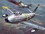 USAF F-86 Sabre (Capt. J. M. Connell) - Korean War Aces 1951