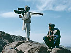 U.S. covertly supplied Stinger anti-aircraft missiles to the Mujaheddin during the Soviet occupation of Afghanistan.