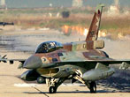 2006 July 13 - IAF F-16 jets returns from a mission over Lebanon at the Ramat David air force base in northern Israel (Fox News)